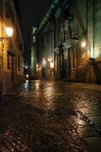 Una de las calles del Madrid de los Austrias mas misterioso