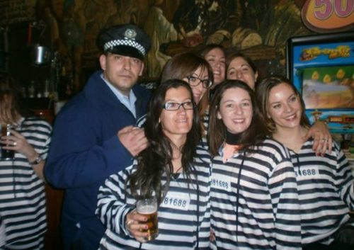 Despedida de prisiones en Madrid