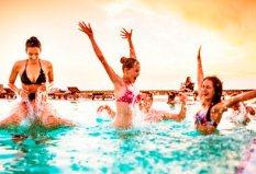 fiesta pool party en Madrid