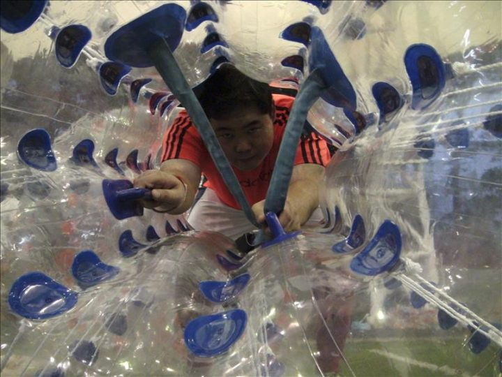 ¿Jugamos al nuevo fútbol Burbuja?