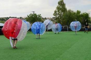 logo futbol burbuja