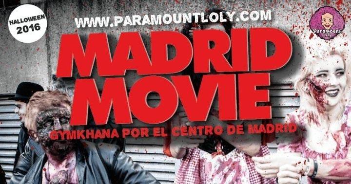 Descubre Mad Movie: la mejor Gymkana de Halloween