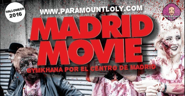 gymkana Madrid movie halloween
