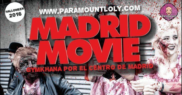 gymkana Madrid movie halloween