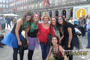 gymkana por la ciudad de Madrid