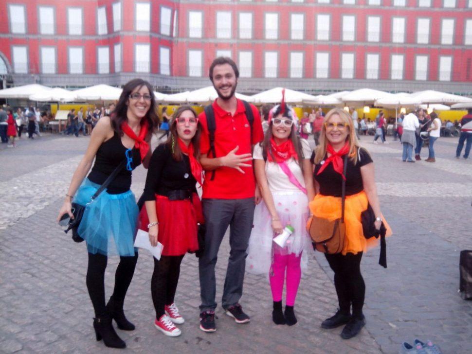 Despedida económica y barata en Madrid