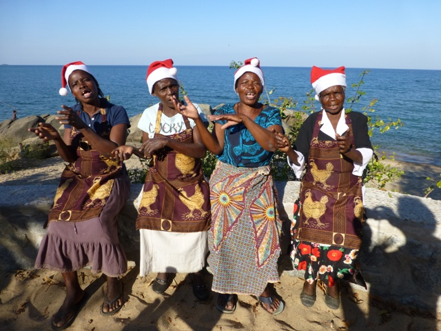 Navidad en africa