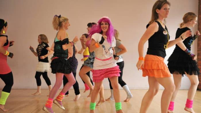 Sesión de baile