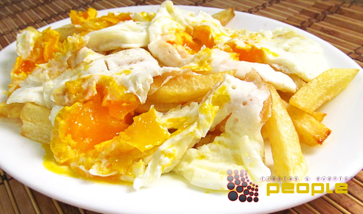 huevos fritos estrellaos